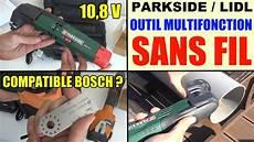 outil multifonction sans fil parkside pamfw 10 8 v lidl