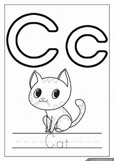 letter c for cat worksheets 24045 printable alphabet coloring pages letters a j