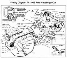 Wiring Diagram For 1936 Ford Wiring
