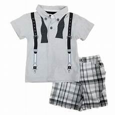 Suspender Polos boys rock infant toddler boys 2 suspender polo