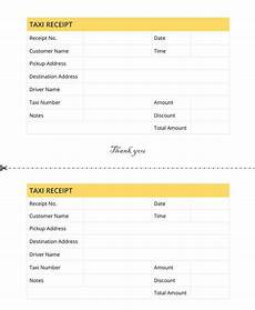 free 12 taxi receipt templates in pdf docs sheets excel ms word numbers
