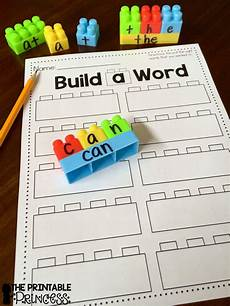 building sight words worksheets 21020 the printable princess build a sight word plus recording sheet