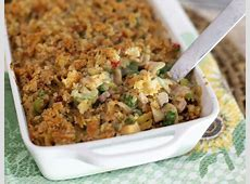 rich and cheesy ham and asparagus noodle casserole_image