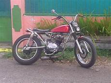 Cb 125 Modif by Honda Cb 125 Modif Japs Style For Sale Bandung