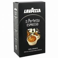 café moulu expresso cafe moulu il perfetto espresso lavazza 250g tous les