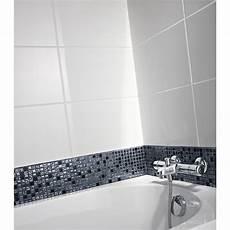 carrelage mural en fa 239 ence blanc 25 x 40 cm leroy