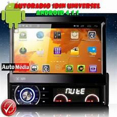 android autoradio 1 din autoradio 1 din android capacitif gps wifi auto m 233 dia