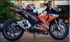 Mx King Modif Touring by Kumpulan Gambar Modifikasi Motor Yamaha Jupiter Mx King 150cc