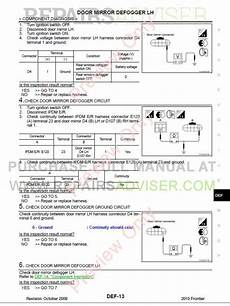 auto repair manual online 2007 nissan frontier electronic toll collection nissan frontier model d40 series service manual pdf download