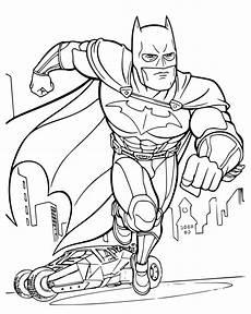 Galeri Gambar Mewarnai Batman Terbaru Lengkap