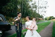 Simple Wedding Dresses Edinburgh a sweet and simple child friendly wedding by the castle in