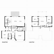 sloping block house plans fabulous house floor plans sloping blocks home design