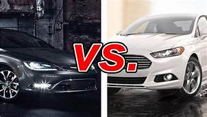 Chrysler 200 Vs Ford Fusion  CarsDirect