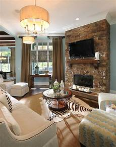 30 living room design ideas with tv set on wall decoration love