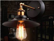 industrial wall sconce light black metal wall ls bedside l balcony sconce led wall