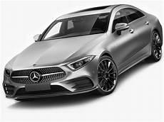 Mercedes Modelle 2018 - 3d model mercedes cls 2018 amg line cgtrader