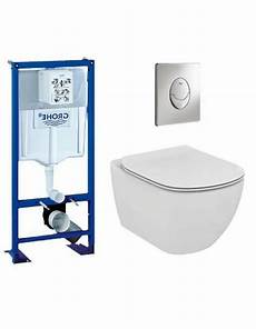 pack wc grohe cuvette sans tesi ideal standard