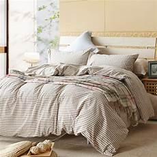 aliexpress com buy beige plaid brief plaid sheets queen