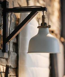 ikea ranarp wall light hack with ekby valter brackets freeing up bedside table space ikea