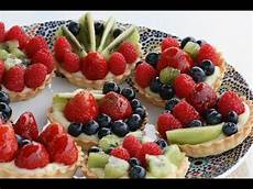 Tartelettes Aux Fruits Frais Fresh Fruit Tartlets تارت