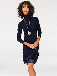 heine casual strickkleid mit spitze kaufen otto