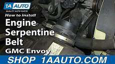 small engine service manuals 2003 gmc envoy electronic valve timing 2004 gmc envoy xl fan belt repair 2004 gmc safari tension pulley change how to install