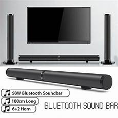 Wireless Bluetooth Soundbar Stereo Speaker Subwoofer by Eu Us Au 50w Detachable Bluetooth Soundbar Wireless Stereo