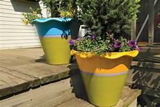 how to paint terra cotta pots krylon 174