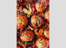 easy baked meatballs_image