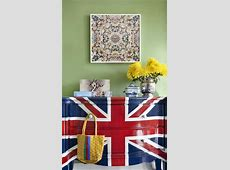 30 Patriotic Decoration Ideas, Union Jack Themed Decor in