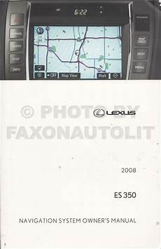 automotive service manuals 1999 lexus es navigation system 2008 lexus es 350 navigation system owners manual original
