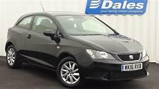 Seat Ibiza 1 0 Sol 3dr Hatchback Midnight Black 2016