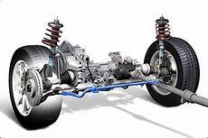 the independent macpherson strut front suspension includes
