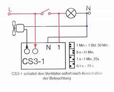 zeitschalter steuerung ventilator treppenbeleuchtung