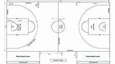 Gambar Lapangan Bola Basket Beserta Ukurannya Info