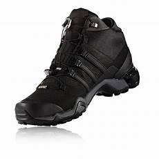 adidas terrex adidas terrex fast r mid mens black tex waterproof