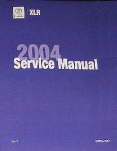 free auto repair manuals 2004 cadillac xlr lane departure warning 2004 cadillac xlr factory service repair workshop manual