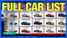 Forza Horizon 4 Car List Dlc Cars