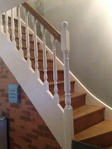peindre un escalier en blanc escalier bois et blanc renovation escalier bois