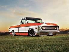 Low Chevy Truck Wallpaper