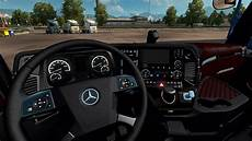 truck simulator 2 mercedes actros mp4 black