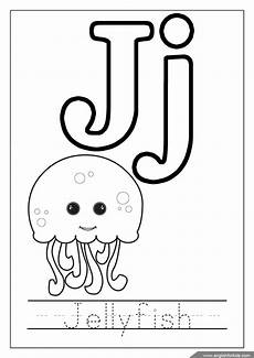 for step by step printable alphabet coloring