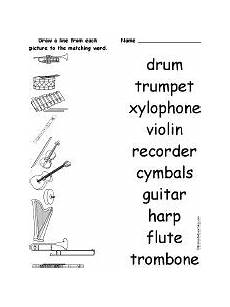 11 best images of musical instruments worksheets printable music instruments worksheets
