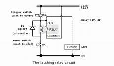 ac how to make a latching unlatching relay circuit with 240v converter electrical