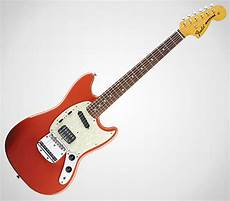 Fender Kurt Cobain Mustang Guitar Cool Material