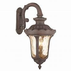 4 light outdoor wall lantern livex lighting frontenac 4 light imperial bronze outdoor wall lantern 76702 58 the home depot