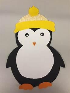 klassenkunst fensterdeko pinguin freebie