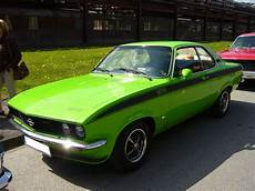 Opel Manta A Gt E 1974 1975 Der 1970 Vorgestellte
