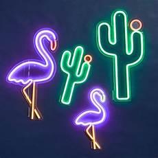 buy sunnylife neon led wall light cactus large amara