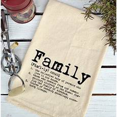 Kitchen Towels Definition by Farmhouse Flour Sack Definition Family Typefont